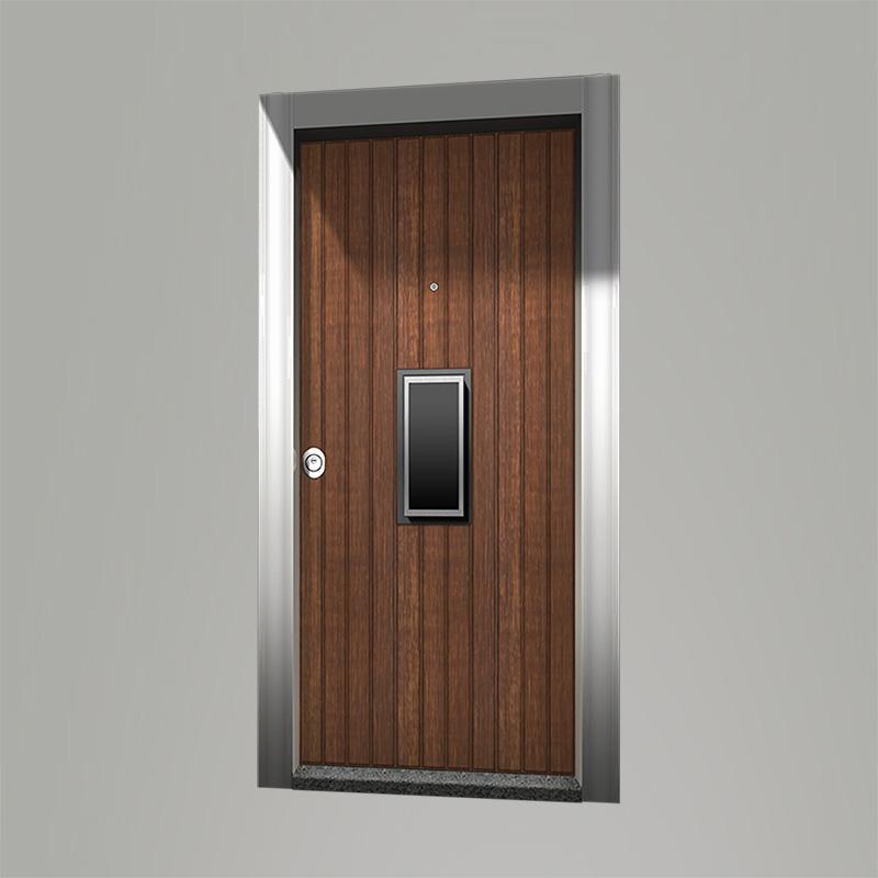 Boyut fabrikinin CENTRO model Woodx seriyası giriş qapısı