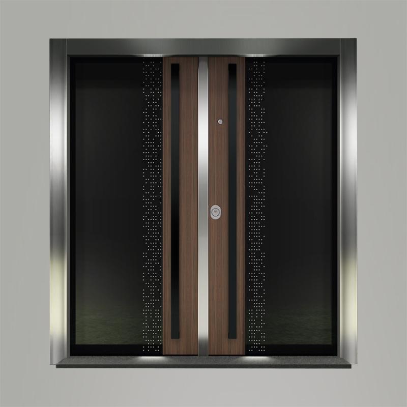 Boyut fabrikinin VAV-D model Double seriyası giriş qapısı