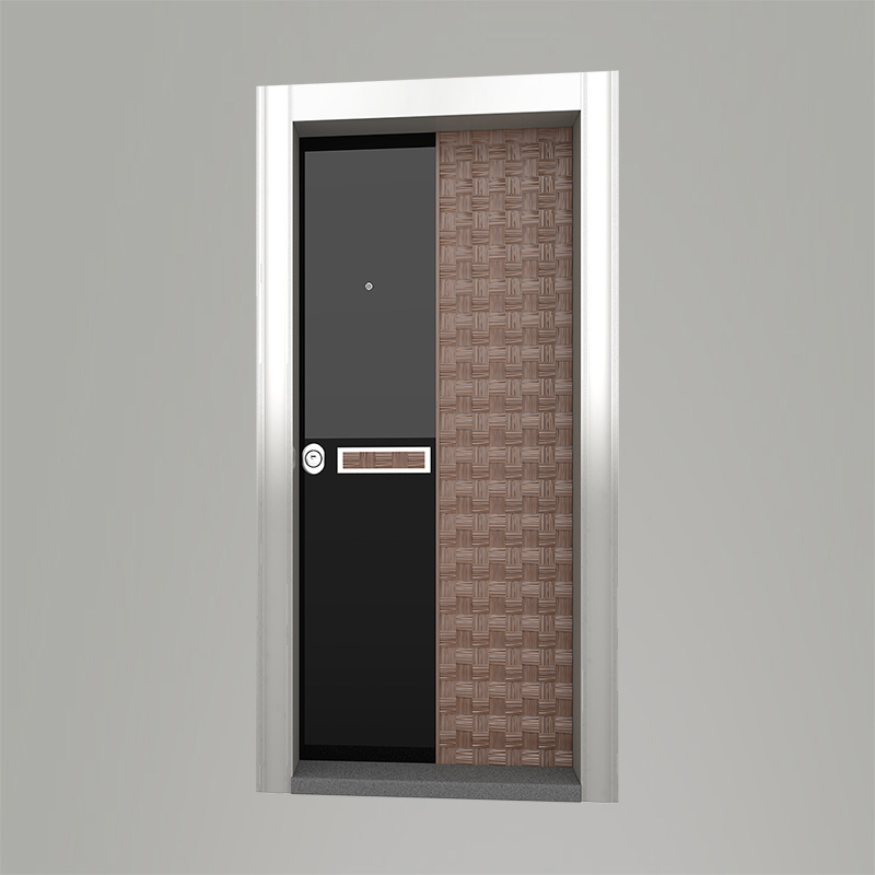 Boyut fabrikinin NATU model Woodx seriyası giriş qapısı