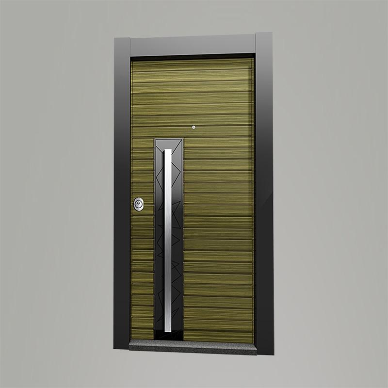 Boyut fabrikinin MUU model Woodx seriyası giriş qapısı