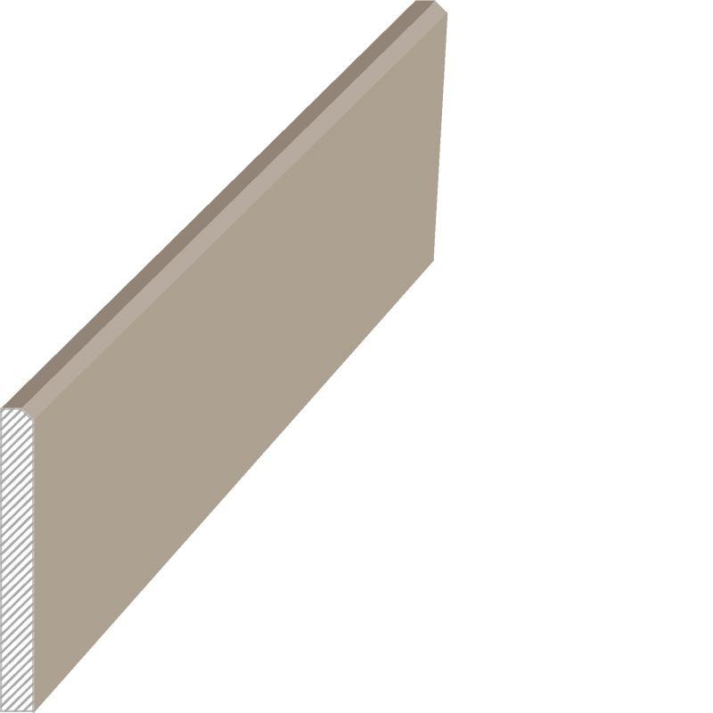 MasDoor fabrikinin S.011 8x80 mm süpürgəlik modeli