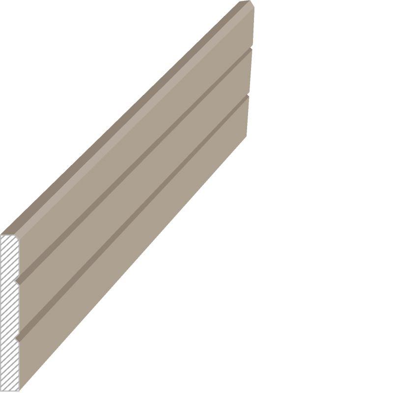 MasDoor fabrikinin S.012 8x180 mm süpürgəlik modeli