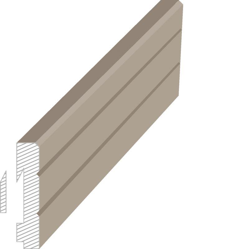 MasDoor fabrikinin S.312 16x80 mm süpürgəlik modeli