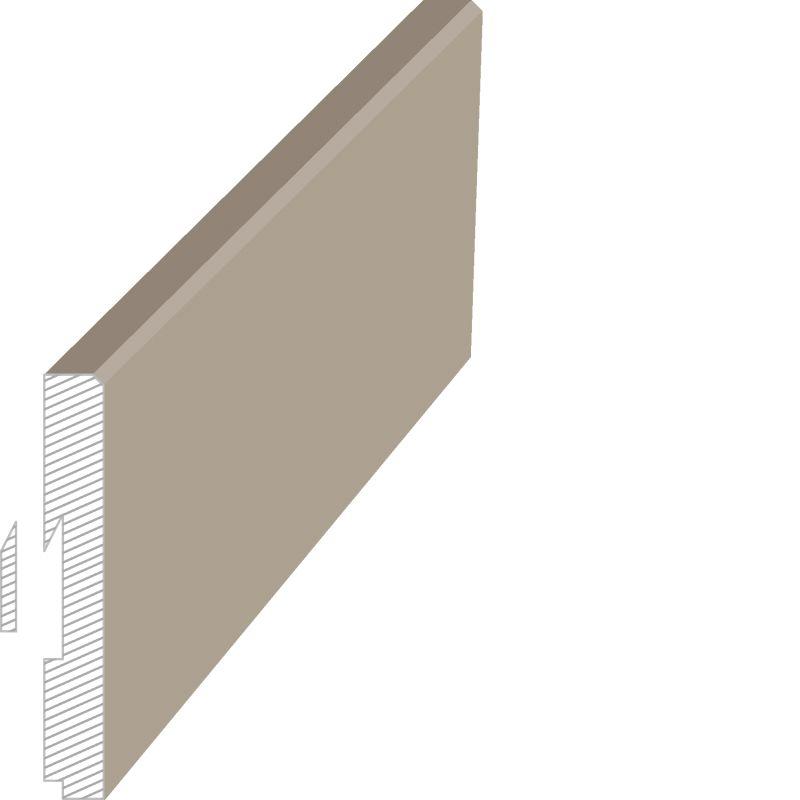 MasDoor fabrikinin S.411 16x120 mm süpürgəlik modeli